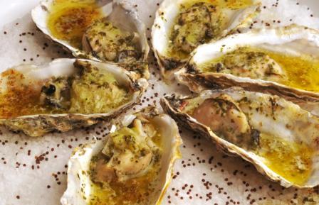 450893 ostras gratinadas 1 Receita de ostras gratinadas