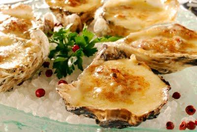 450893 ostras gratinadas Receita de ostras gratinadas