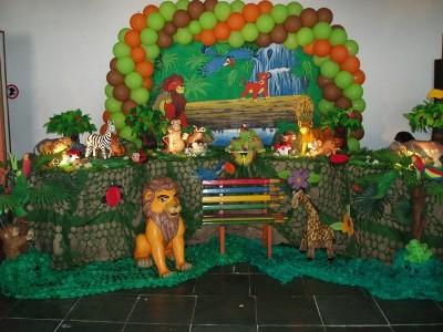 453955 Decoração de festa infantil tema Rei Leão 1 Decoração de festa infantil tema Rei Leão
