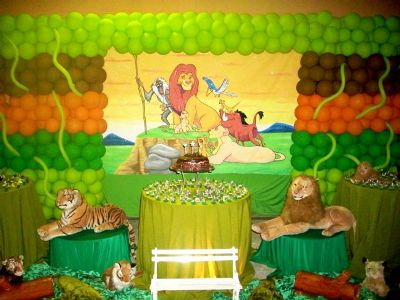 453955 Decoração de festa infantil tema Rei Leão 4 Decoração de festa infantil tema Rei Leão