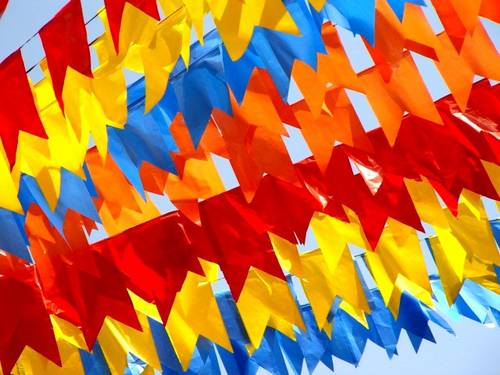 454528 Bandeirinhas para festa junina como fazer7 Bandeirinhas para festa junina: como fazer