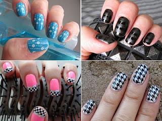 454561 Unhas Decoradas Pin up Fotos como fazer9 Unhas Decoradas Pin up   Fotos, como fazer