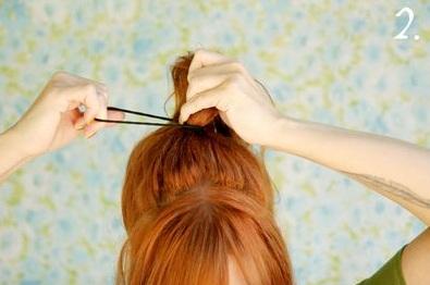 454687 Penteado de Laço Como fazer10 Penteado de Laço, Como fazer