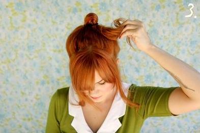 454687 Penteado de Laço Como fazer11 Penteado de Laço, Como fazer