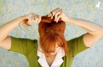 454687 Penteado de Laço Como fazer12 Penteado de Laço, Como fazer