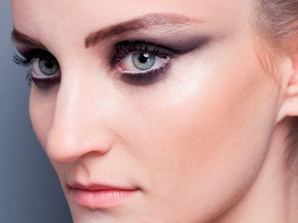455144 fotos e modelos de Maquiagem Inverno 2012 Maquiagem para usar a noite, passo a passo