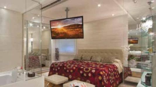 455204 Integração da casa Integração de quarto e banheiro: dicas