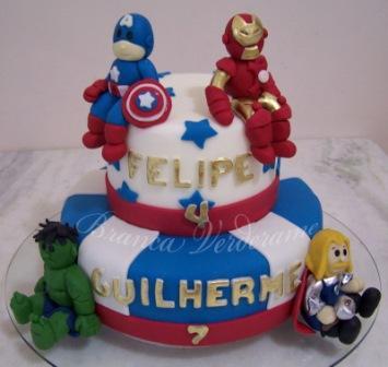 455338 festa infantil os vingadores 3 Decoração Os Vingadores Para Festa de Aniversário