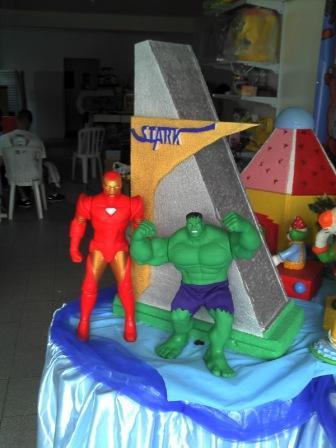 Os Vingadores 6 Decora    O Os Vingadores Para Festa De Anivers  Rio