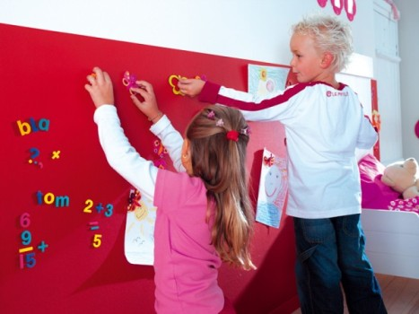 455622 Tinta magnética na decoração da casa 2 Tinta magnética na decoração da casa