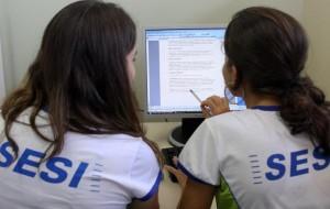 Cursos gratuitos de informática básica Sesi 2012