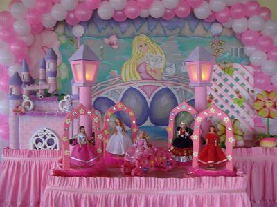 458889 Decoração da Barbie Para Festa Infantil 1 Decoração da Barbie Para Festa Infantil