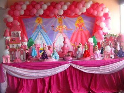 458889 Decoração da Barbie Para Festa Infantil 3 Decoração da Barbie Para Festa Infantil