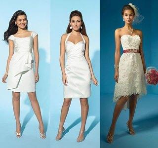 459198 Para os casamentos durante o procure ser mais jovial escolha um vestido delicado. Modelos de vestidos de noiva para casamento civil
