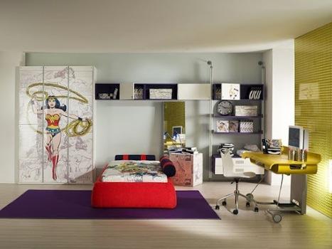 decora o liga da justi a para quarto infantil. Black Bedroom Furniture Sets. Home Design Ideas