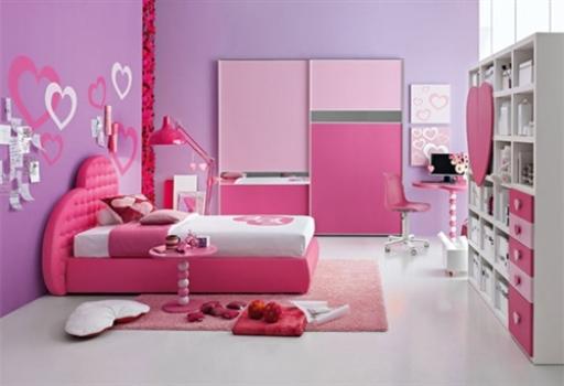 461034 Decoração Rosa Para Quarto de Menina 1 Decoração Rosa Para Quarto de Menina