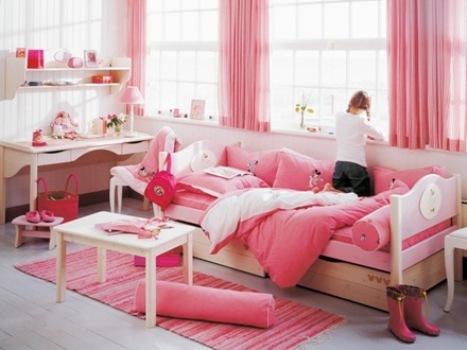 461034 Decoração Rosa Para Quarto de Menina 2 Decoração Rosa Para Quarto de Menina
