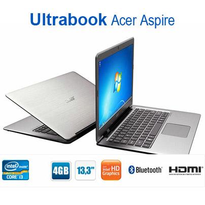 461208 Ultrabook Acer Aspire S3 onde comprar Ultrabook Acer Aspire S3: onde comprar