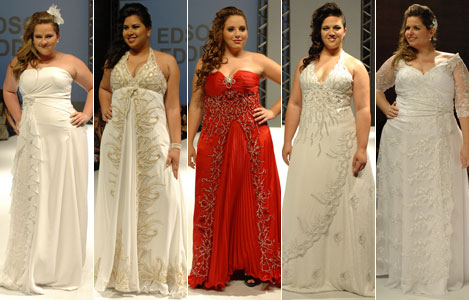 462097 Fotos de vestidos de noiva plus size 07 Fotos de vestidos de noiva plus size