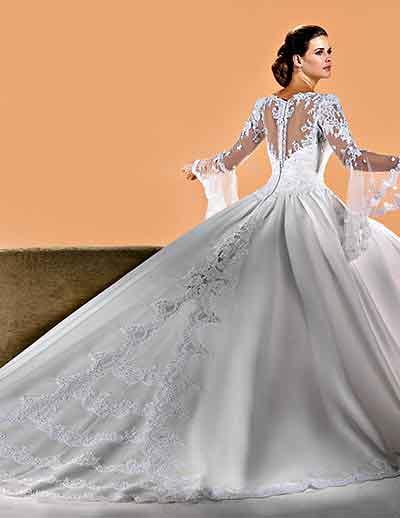 462135 Fotos de vestidos de noiva com manga 07 Fotos de vestidos de noiva com manga