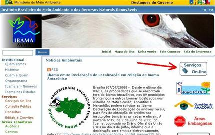 462700 Serviços online Ibama Serviços online Ibama
