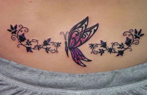 462832 Tatuagem na barriga 07 Tatuagem na barriga: fotos