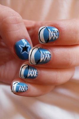 462915 Unhas decoradas All Star como fazer passo a passo1 Unhas decoradas All Star: como fazer passo a passo