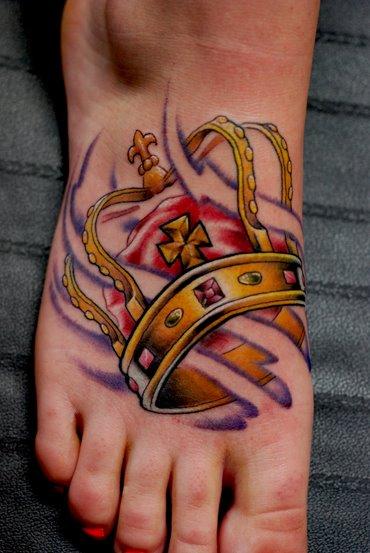 463593 Tatuagem de coroa 18 Tatuagem de coroa: fotos