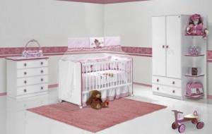 Cortinas e tapetes para o quarto do bebê