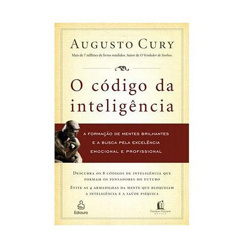 464189 Código da inteligência Livros de Augusto Cury