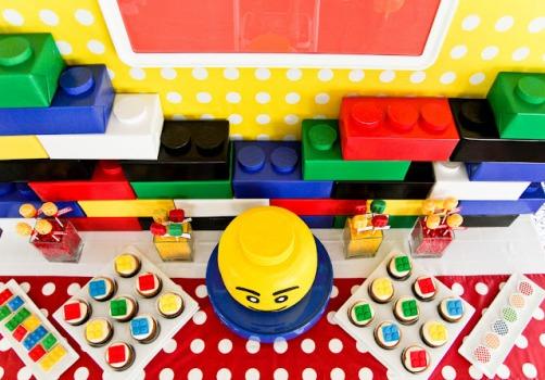 464597 Decoração de festa tema Lego 13 Decoração de festa tema Lego