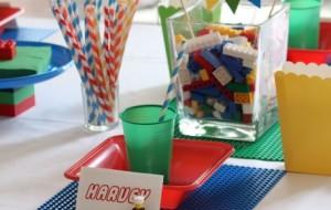 Decoração de festa tema Lego