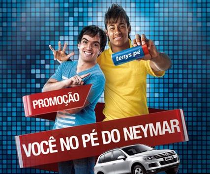 464622 Promoção Você no Pé do Neymar Tenys Pé Baruel1 Promoção Você no Pé do Neymar Tenys Pé Baruel
