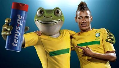 464622 Promoção Você no Pé do Neymar Tenys Pé Baruel2 Promoção Você no Pé do Neymar Tenys Pé Baruel