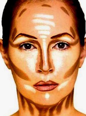 465566 Maquiagem para afinar o rosto.2 Maquiagem para afinar o rosto