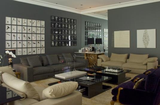 Decoração De Sala Com Pouco Dinheiro – Dicas 1 Decoração de sala
