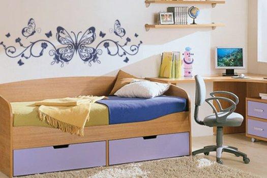 Decoração de quarto com borboletas – como fazer ~ Abajur De Parede Para Quarto Como Fazer