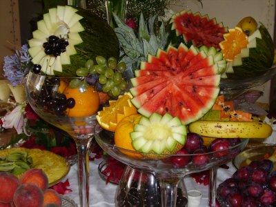 466983 Decora%C3%A7%C3%A3o com frutas 03 Decoração com frutas: fotos