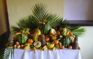 Decoração com frutas 03