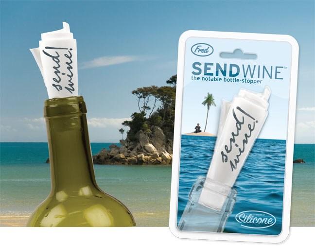468338 tampa para garrafa de vinho Presentes para os pais com até 50 reais