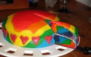 Fotos de bolos coloridos 07