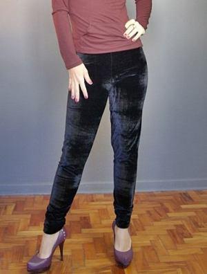469059 Calça Legging de Veludo Moda 2012 1 Calça Legging de Veludo   Moda 2012