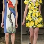 469338 Estampas tropicais 150x150 Modelos de vestidos para o verão 2013, fotos