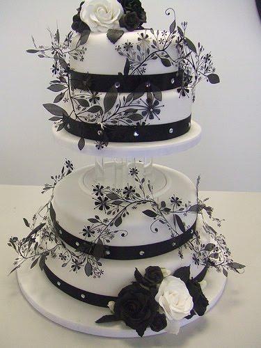 469849 Fotos de bolos art%C3%ADsticos preto e branco 20 Fotos de bolos artísticos preto e branco
