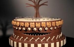 Fotos de bolo de chocolate decorados