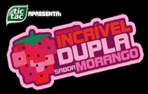Promoção Incrível Dupla Sabor Morango Tic Tac