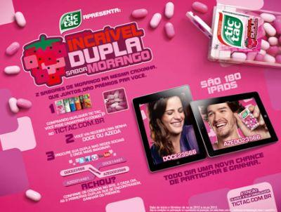 470482 promocao incrivel dupla sabor morango tic tac Promoção Incrível Dupla Sabor Morango Tic Tac