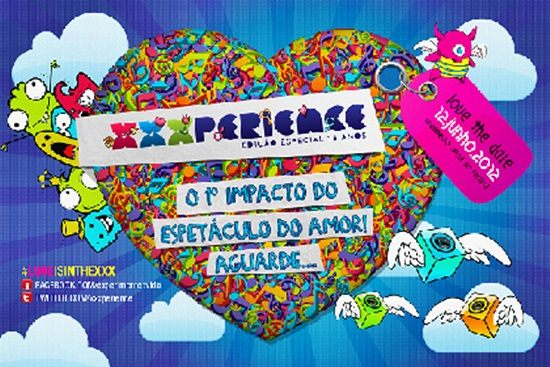 470612 XXXperience 20125 XXXperience 2012: datas, local, ingressos