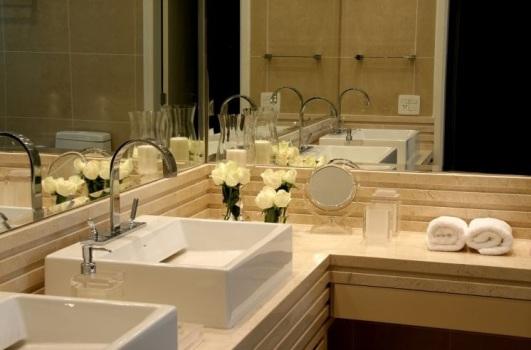 470794 Decoração em Banheiro Com Espelho Dicas e Fotos 2 Decoração em banheiro com espelho   dicas e fotos