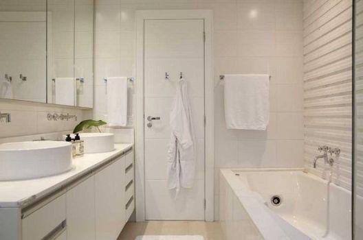 decoracao banheiro clean : decoracao banheiro clean:Banheiro Com Espelho Dicas e Fotos 8 150×150 Decoração em banheiro